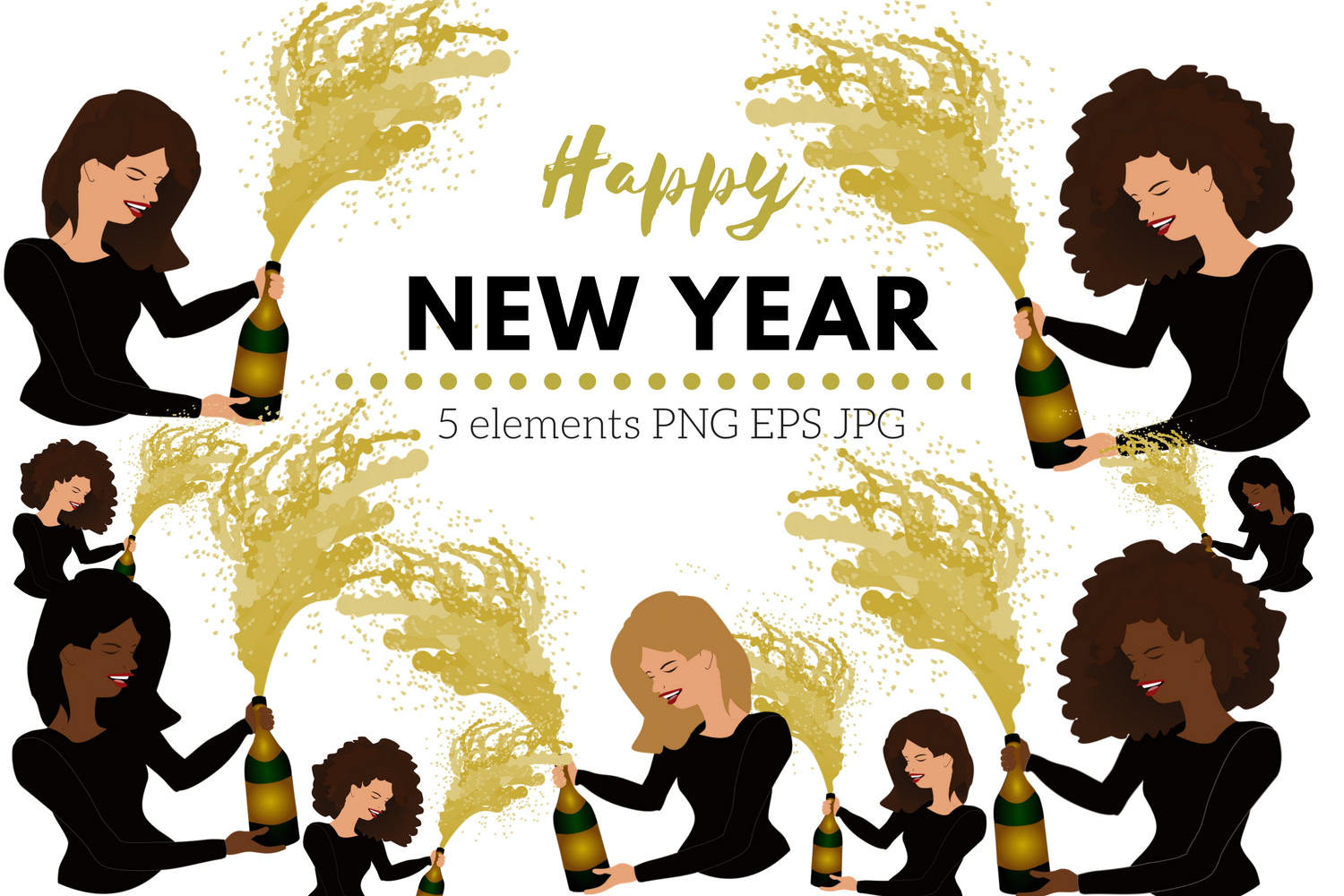New Year's Eve Party Time example image 1