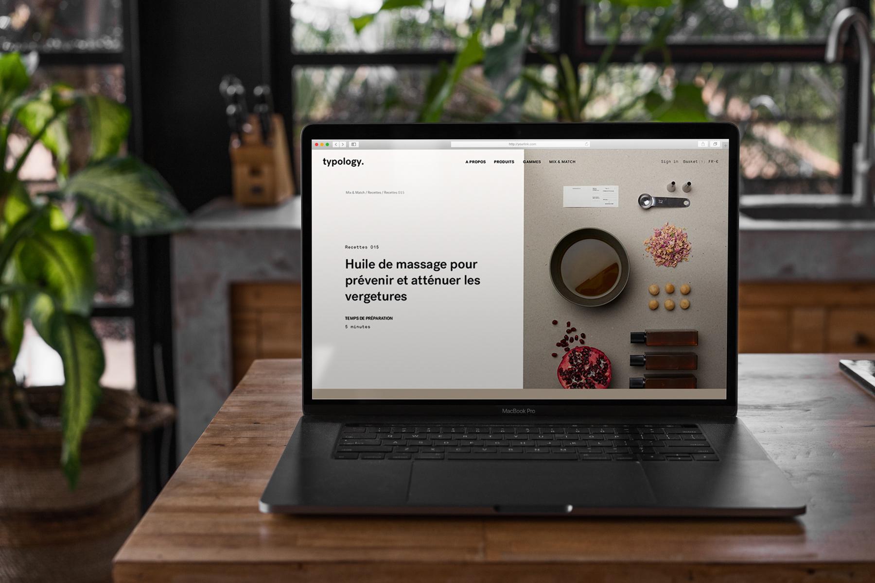 MacBook Pro Mock-Up Loft Style example image 7
