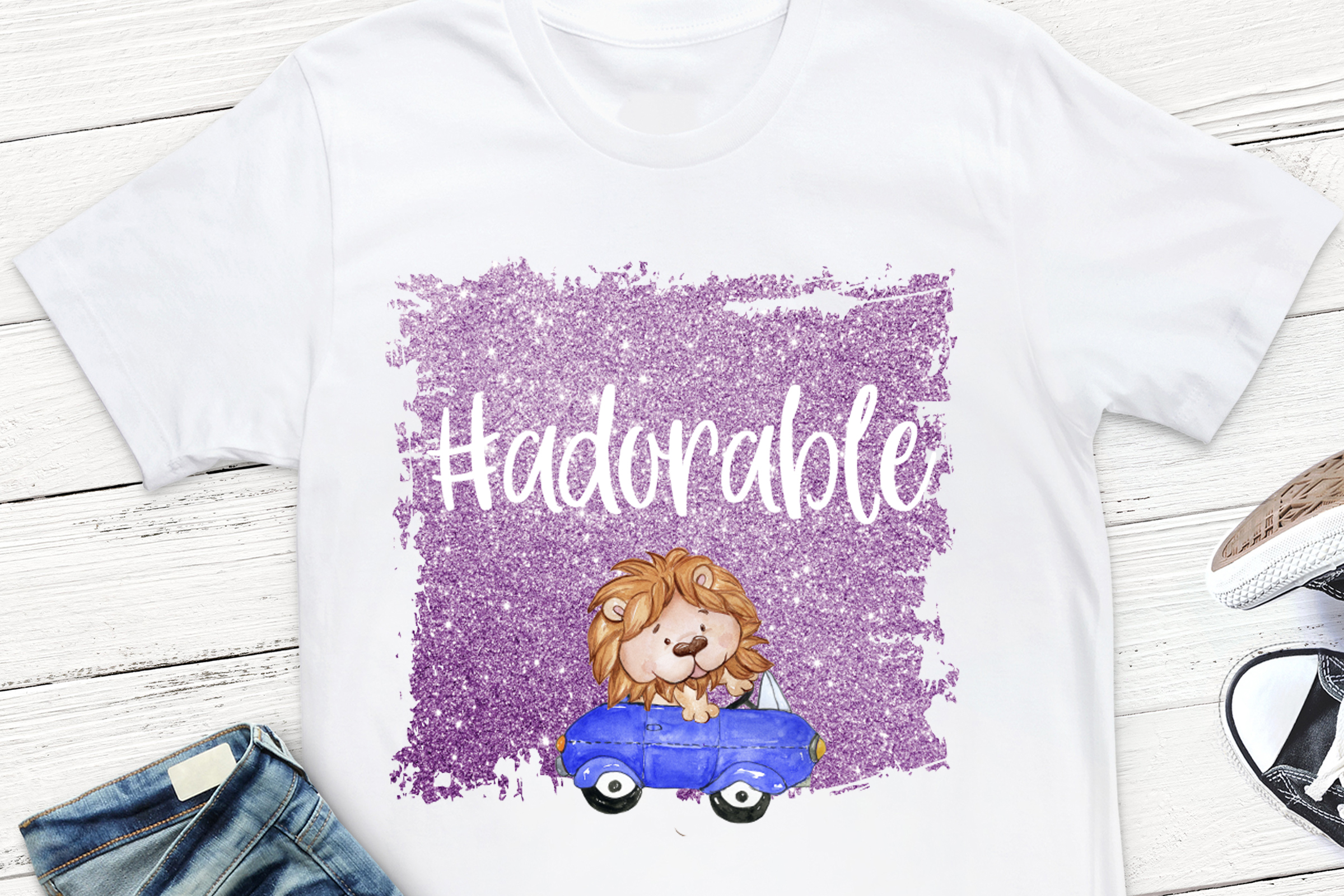 Adorable Sublimation Design, example image 1