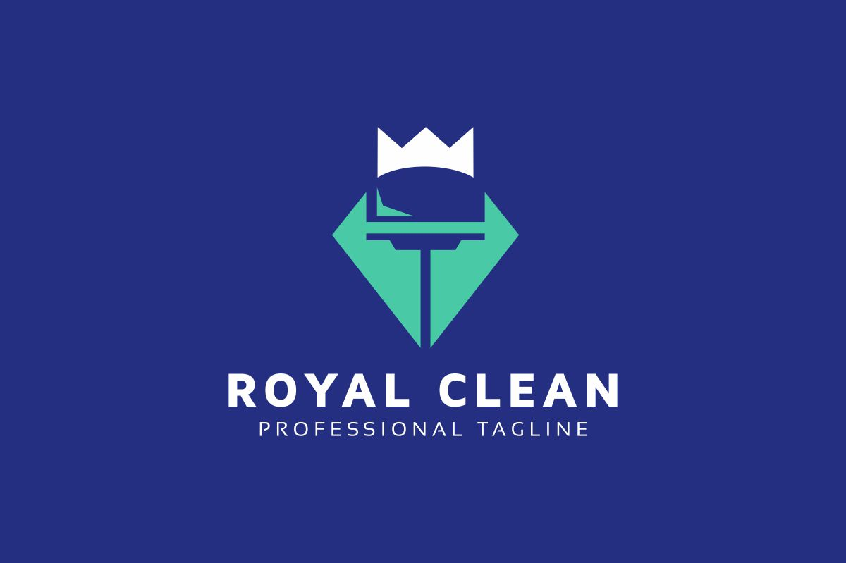 Royal Clean Logo example image 2