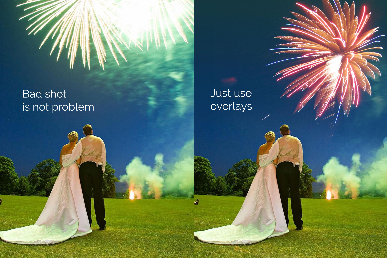 21 Firework Photo Overlays example image 2