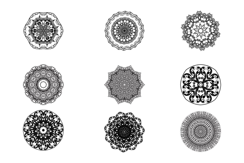 125 Vector Mandala Design example image 2