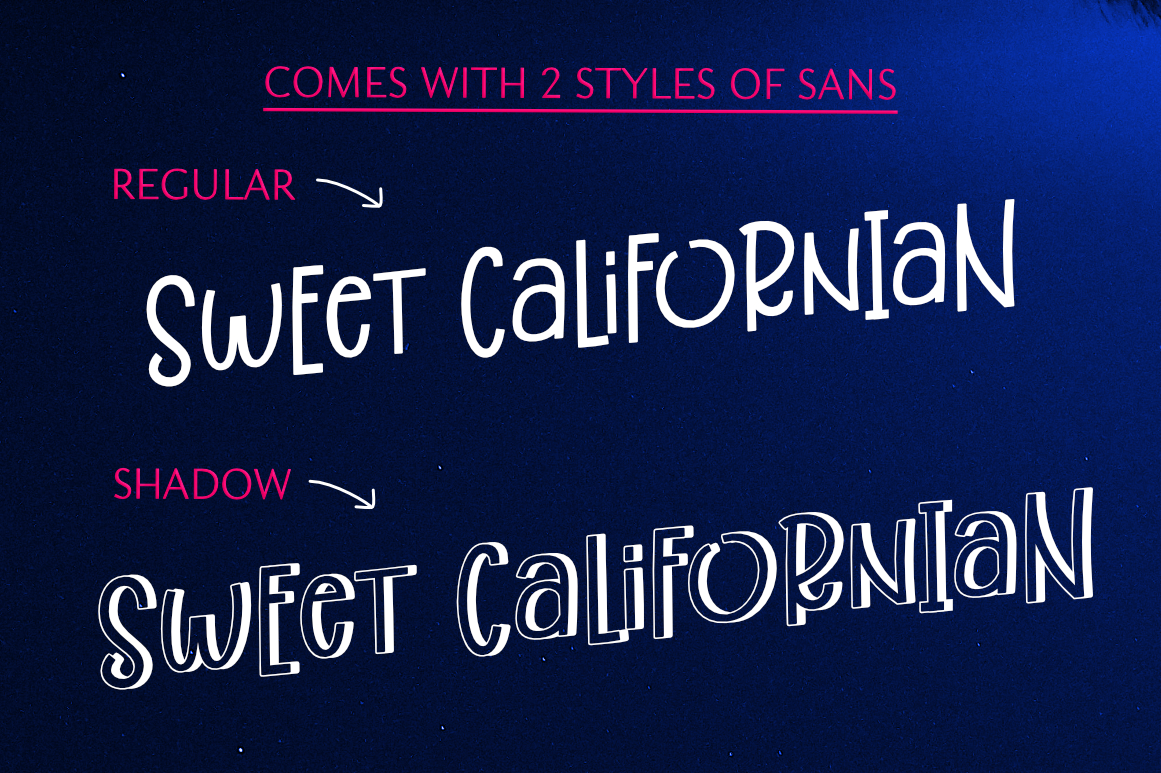 Best Friend Forever- A Casual & Playful Font Trio. example image 2