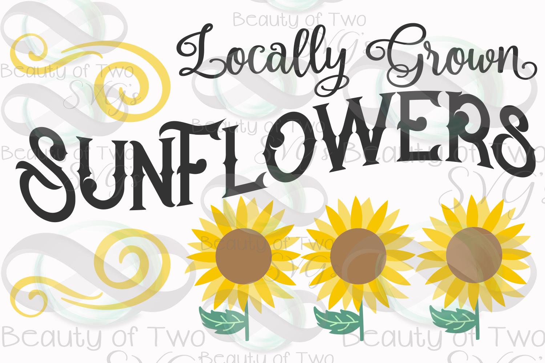 Sunflower svg and png, Summer Sunflower svg, vintage svg example image 2