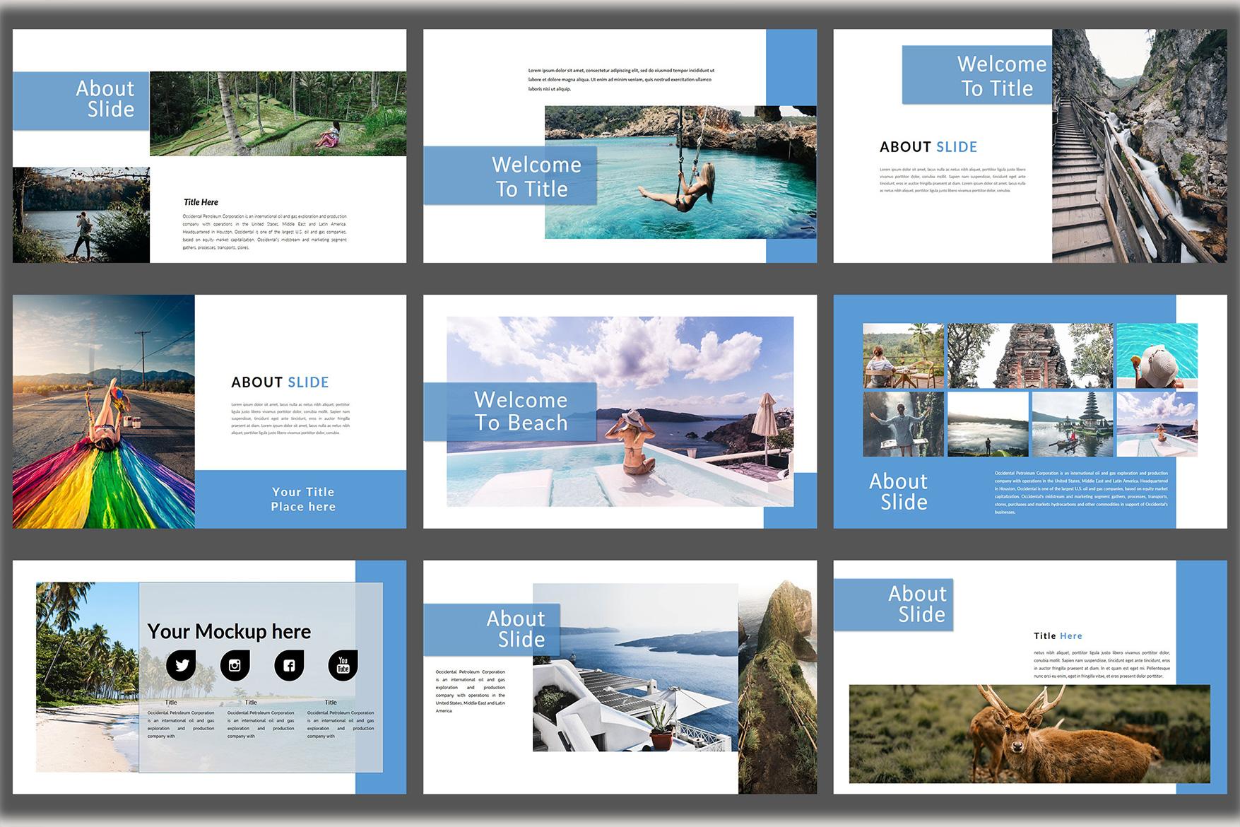 Holiday - Google Slides Presentation example image 5