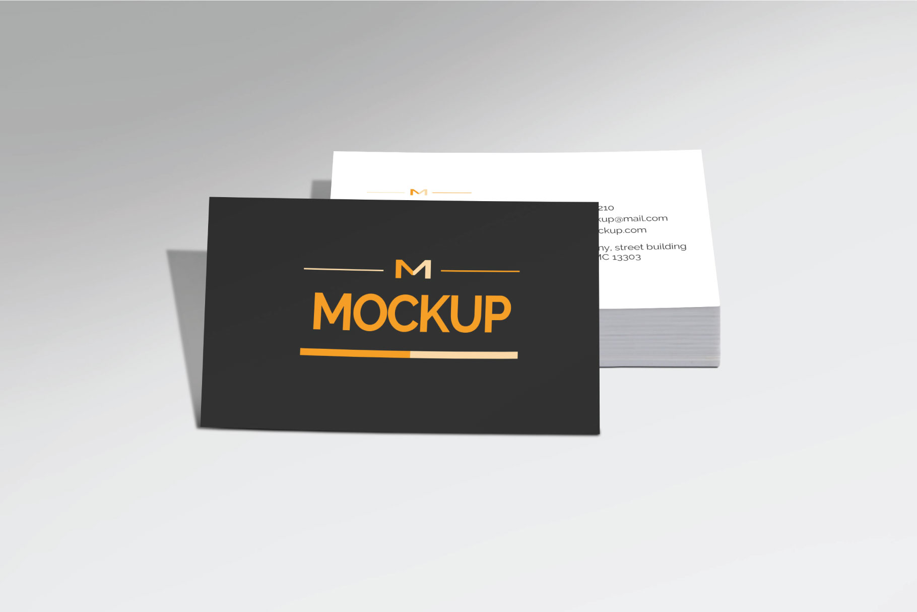 6 Style Business Card Mockups example image 4