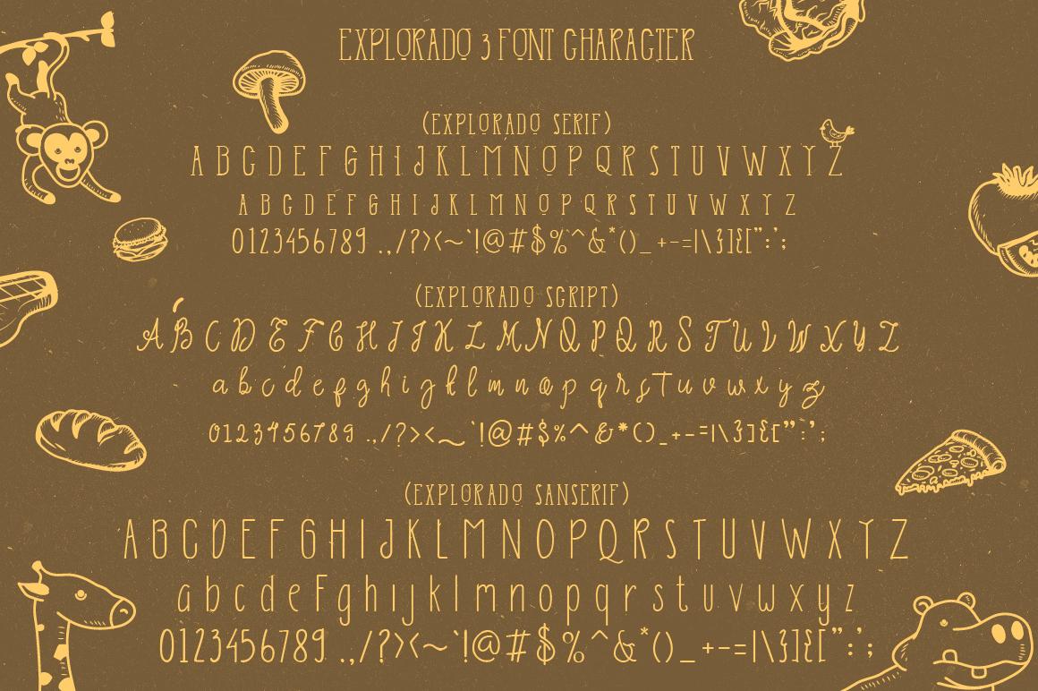Explorado Typeface  example image 10