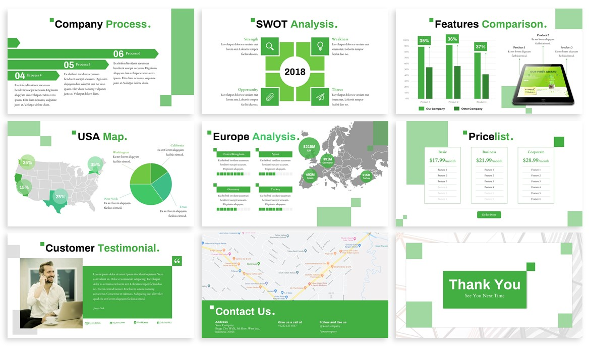 Ayna - Creative Powerpoint Template example image 4