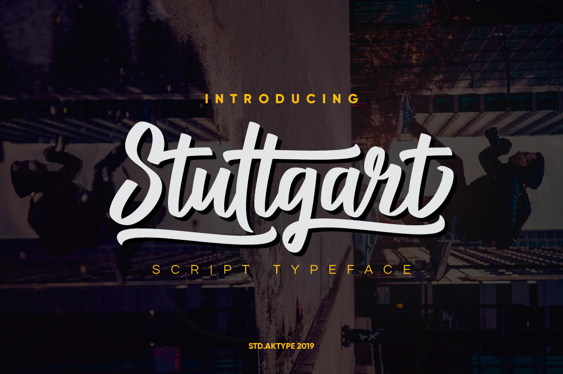 Stuttgart Script example image 1