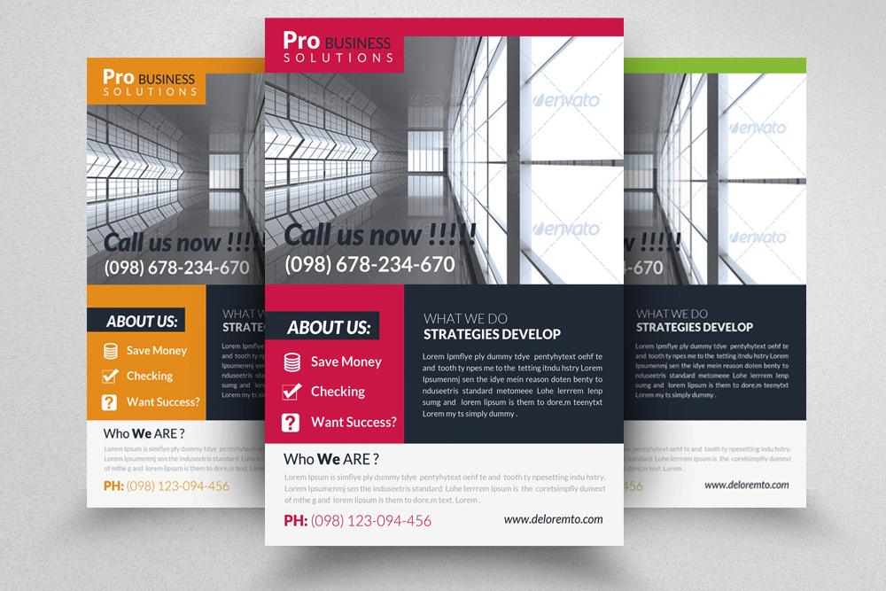 6 Professional Business Flyers Bundle example image 7