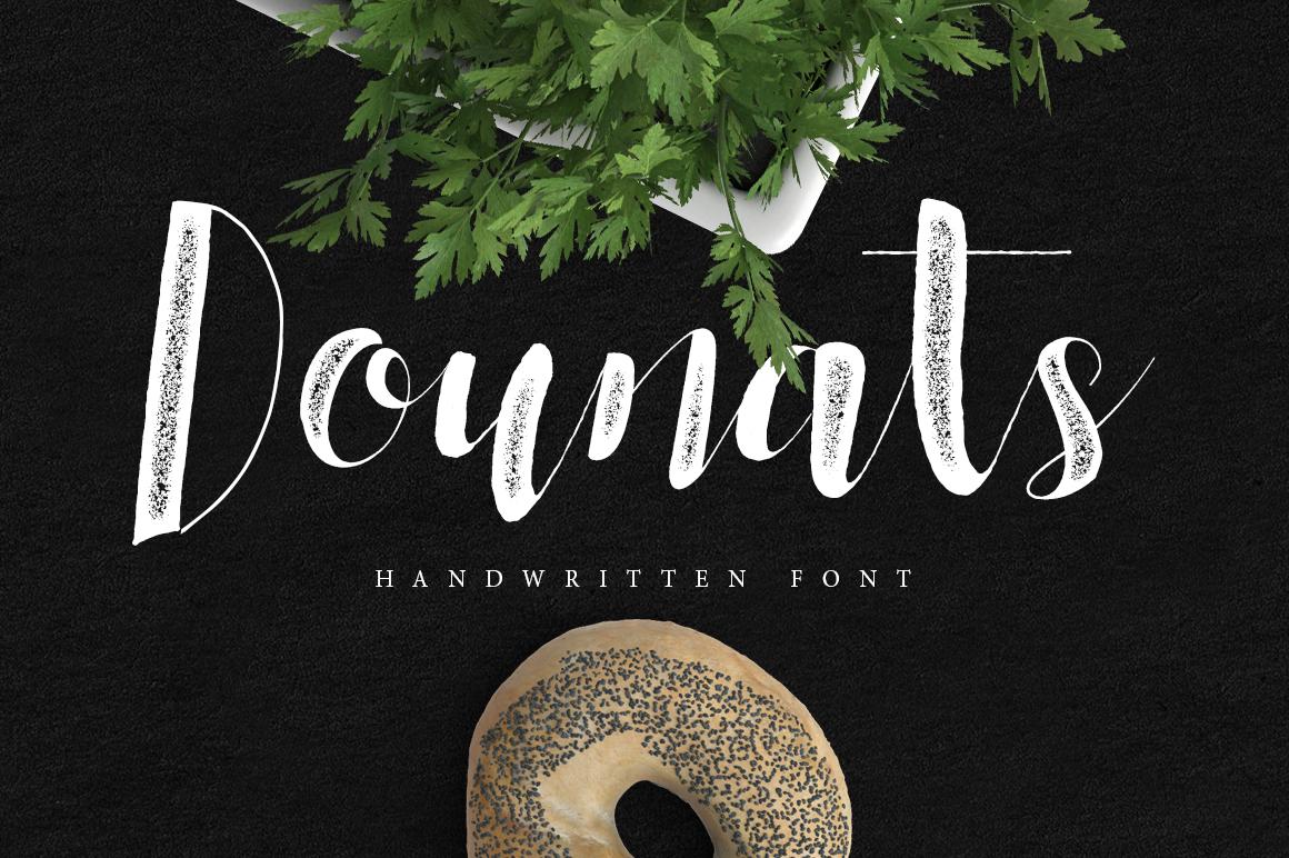 Dounats Typeface example image 1