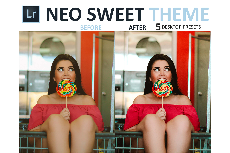 Neo Sweet Theme Desktop Lightroom Presets example image 3