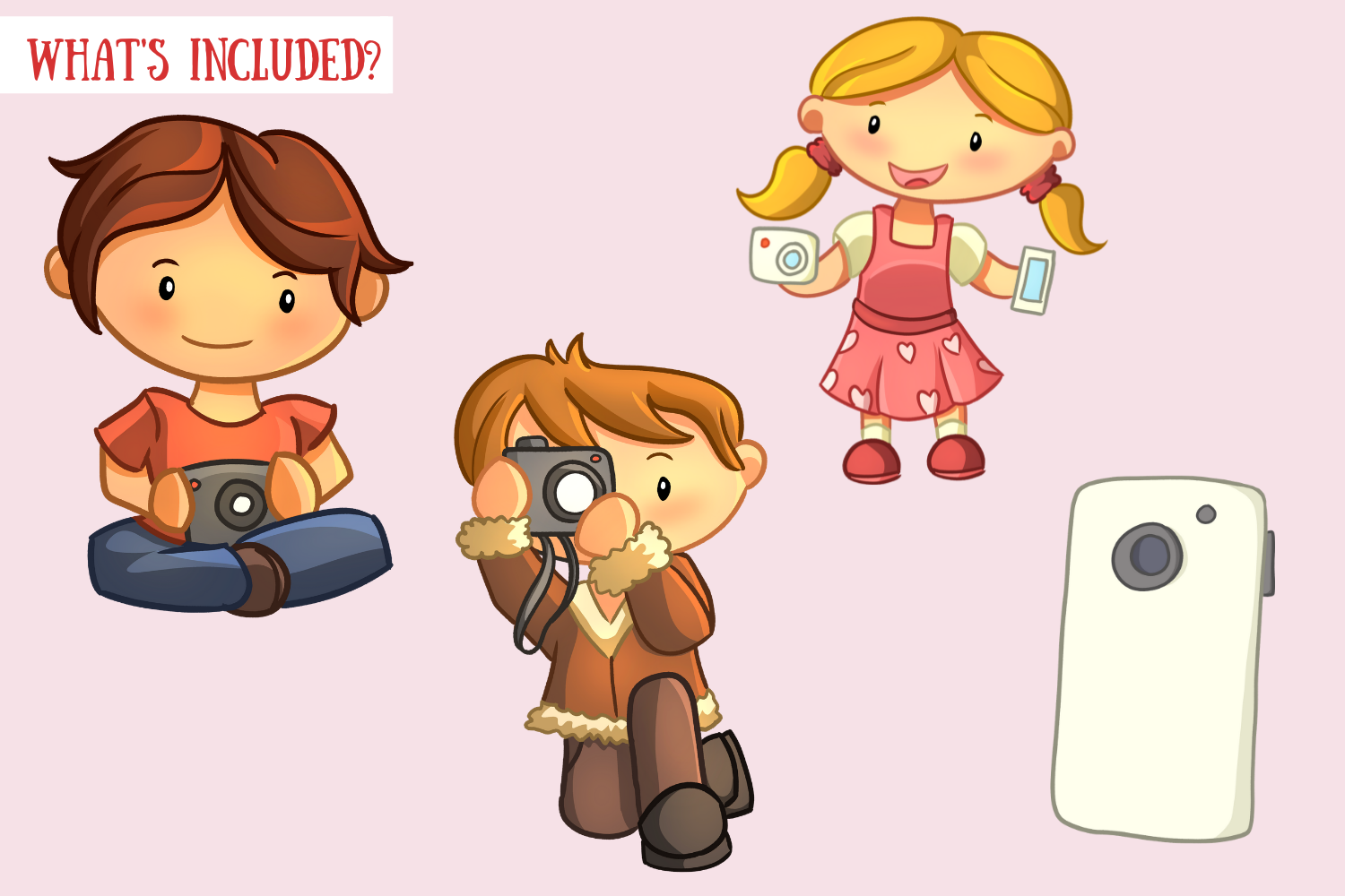 Cute Photography Illustrations example image 2