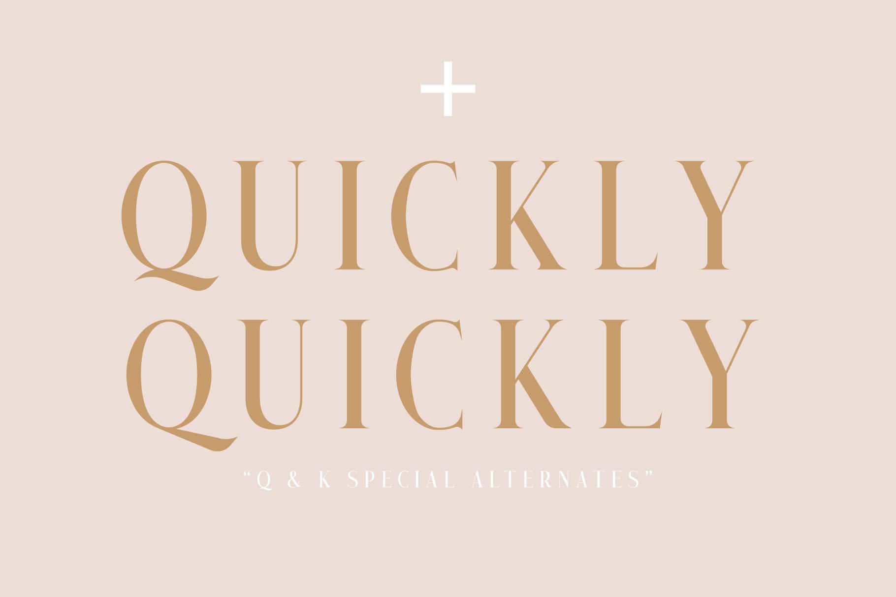 Qualey - Elegant Serif Font example image 2