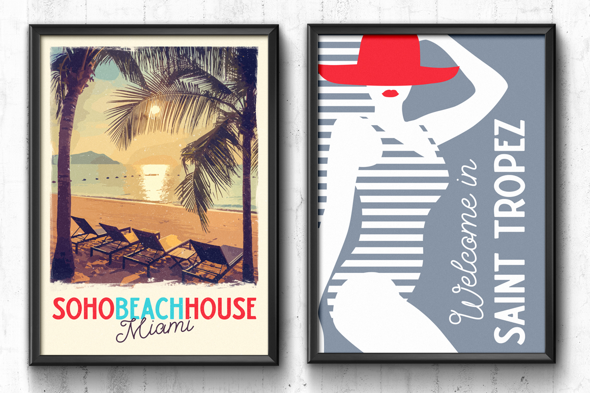 Palm Beach Font Duo example image 10