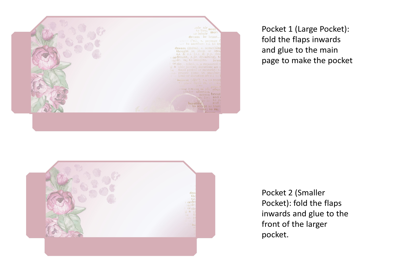 Stuffed Pockets Ephemera Kit for Journaling or Card making example image 2