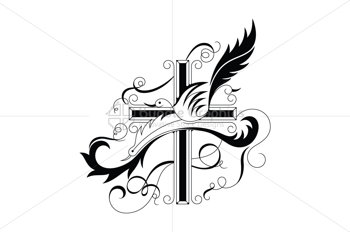 True Cross and Peace Illustration example image 1