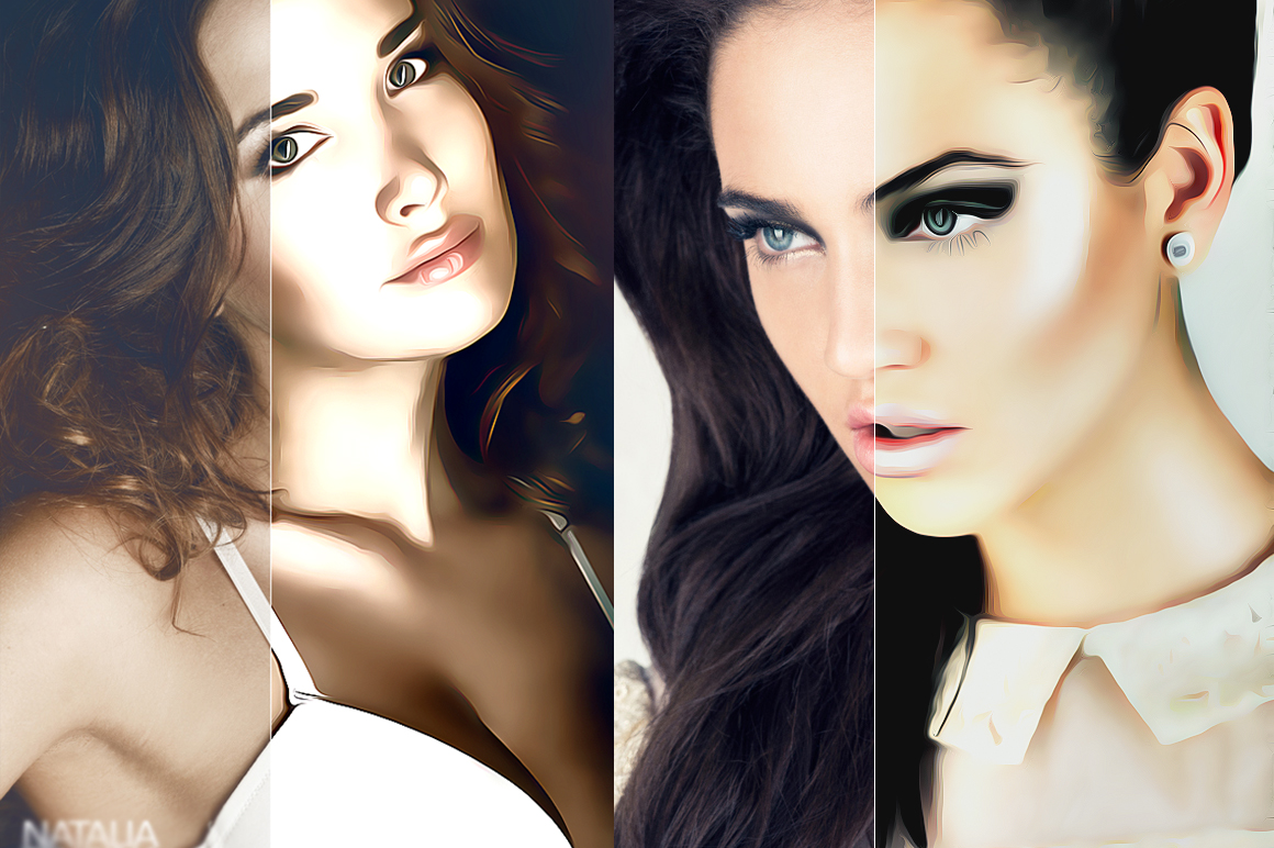 Professional cartoon Oil Paint effect v.2 example image 3