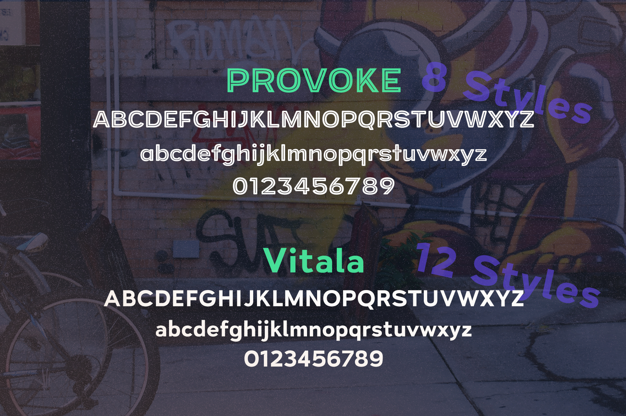 Street Cred Font Duo example image 3