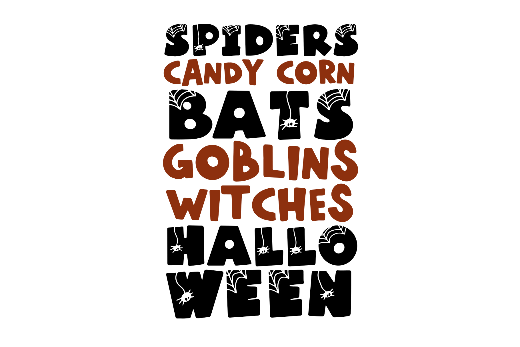 Spooky - A Quirky Halloween Font example image 7