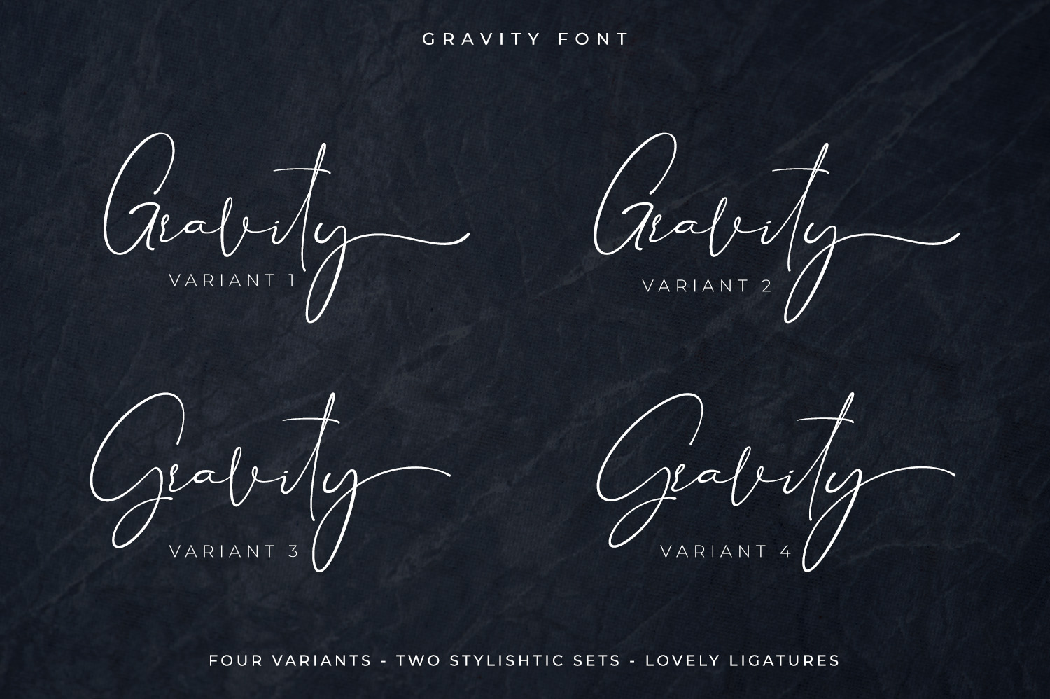 Gravity-Handwritten & Signature example image 5