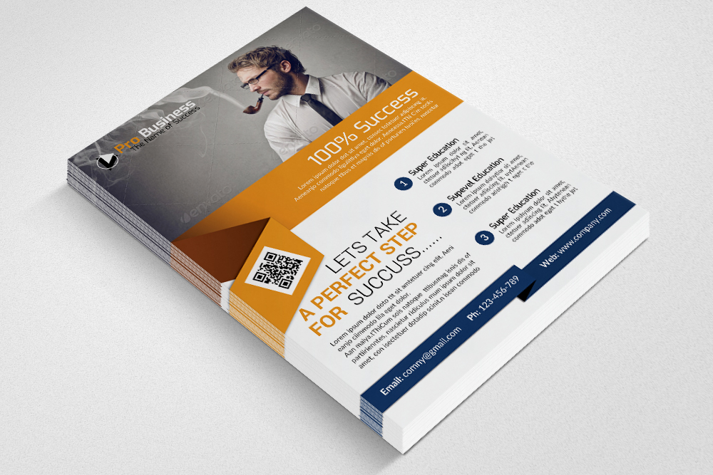 Corporate Flyer Psd example image 2