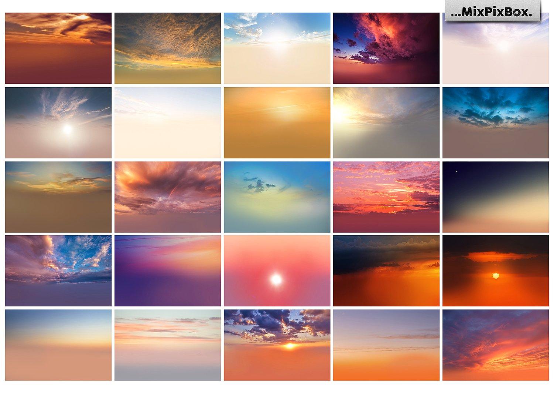 Sunset Sky Photo Overlays example image 6