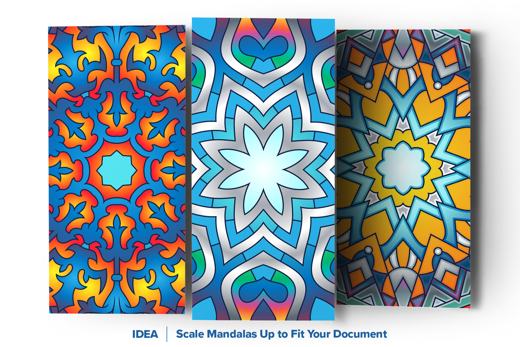 Mandala Vector Ornaments Bundle example image 7