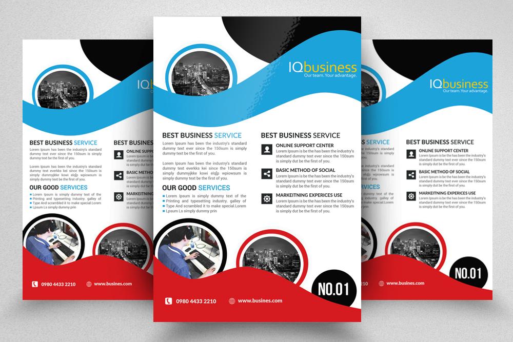 10 Multi use Business Corporate Flyer Bundle 10 example image 10