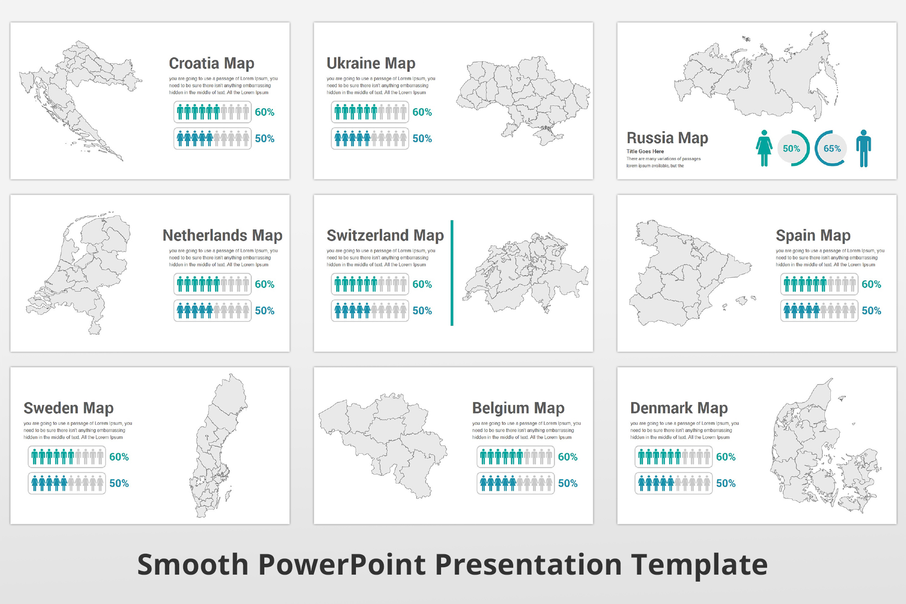 Smooth multipurpose PowerPoint Presentation Template example image 22