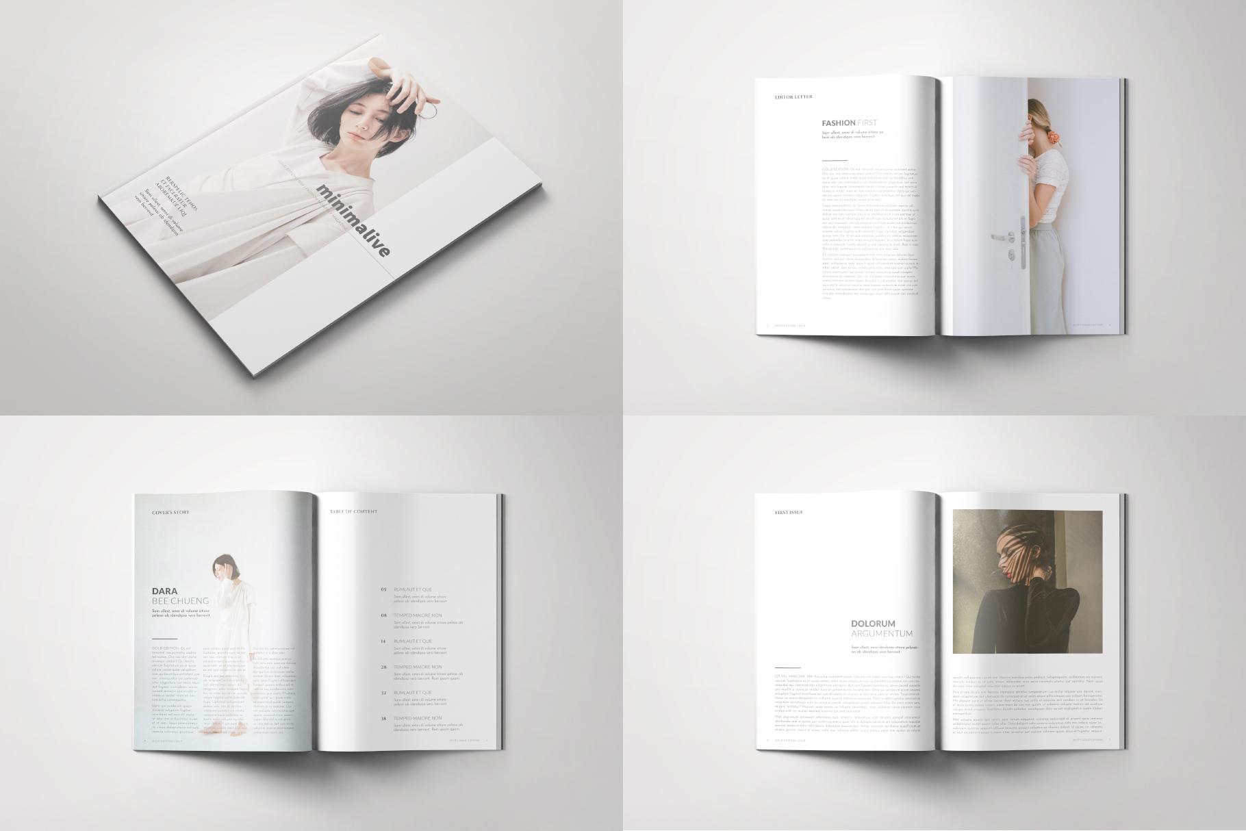 Minimalive Magazine example image 2