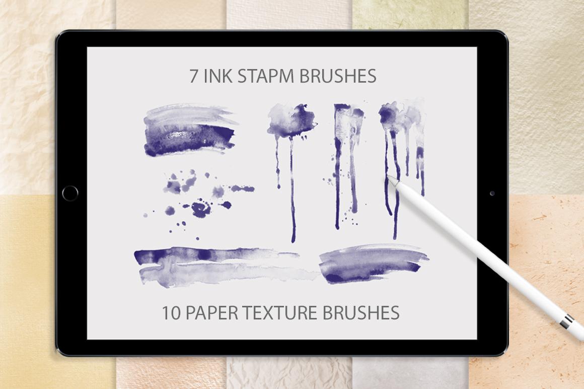 Better Letter. Procreate Brush Set. example image 4