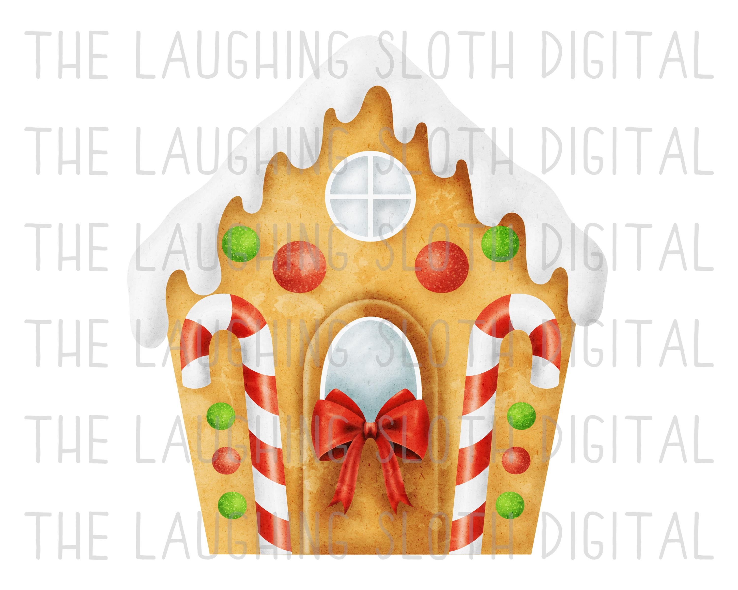 Watercolor Christmas Food Clipart Set 1 example image 7