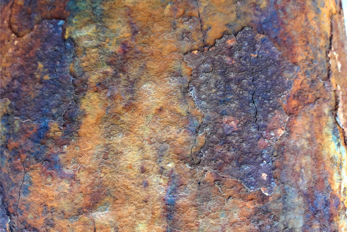 14 Rusted textures set. example image 3