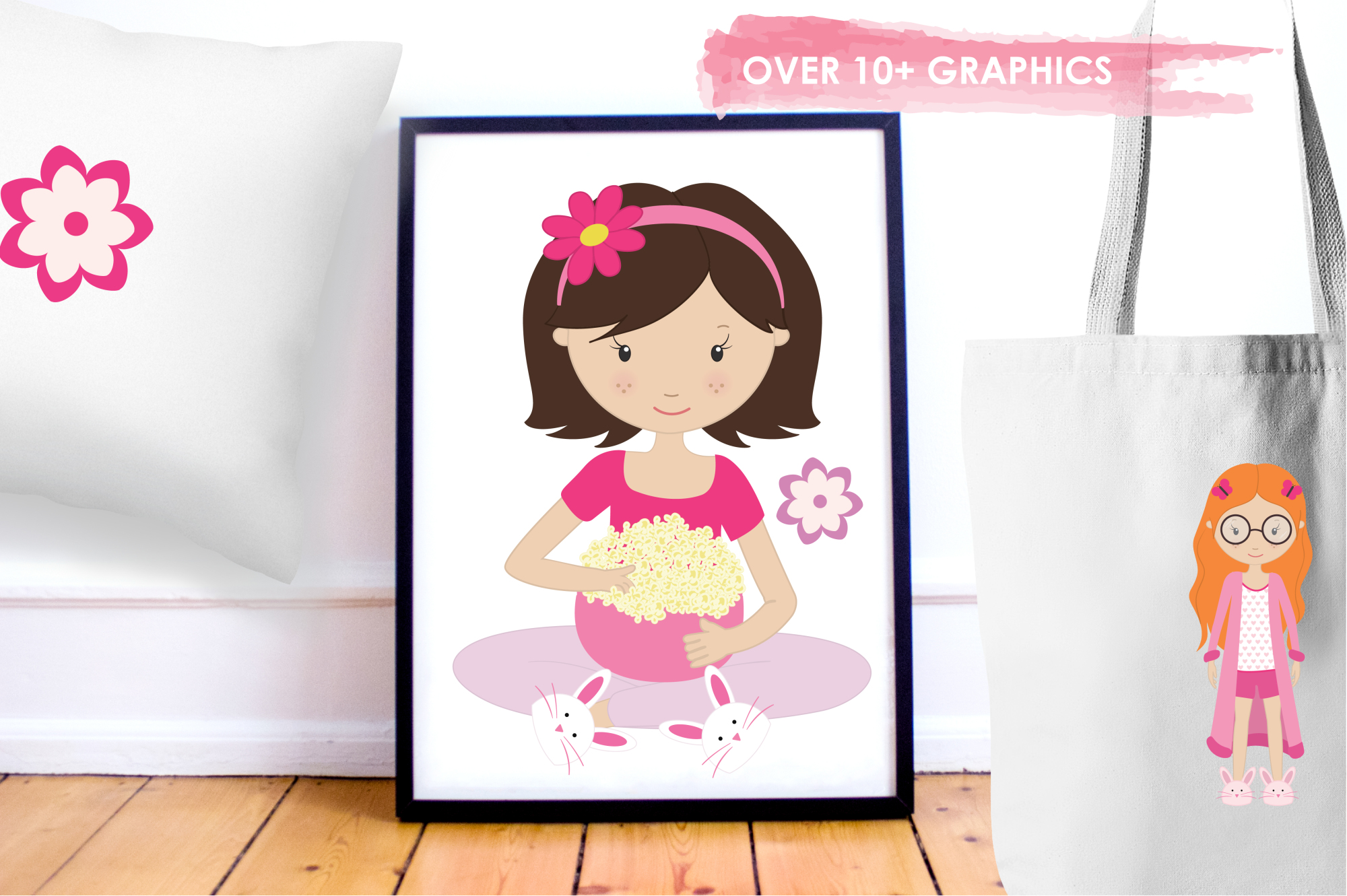 Girls Wanna Have Fun graphics and illustrations example image 5