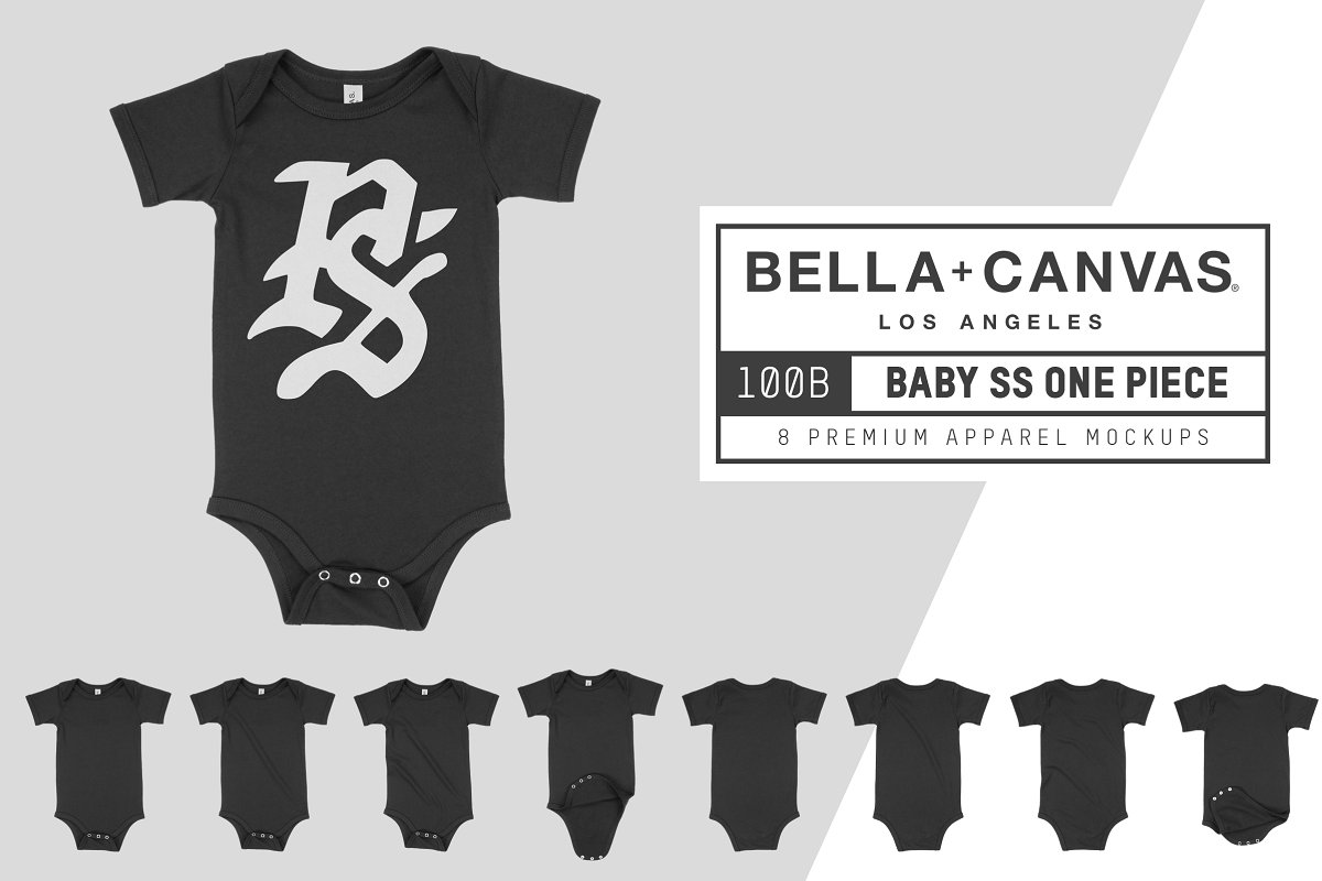 Bella Canvas 100B Baby One Piece example image 1