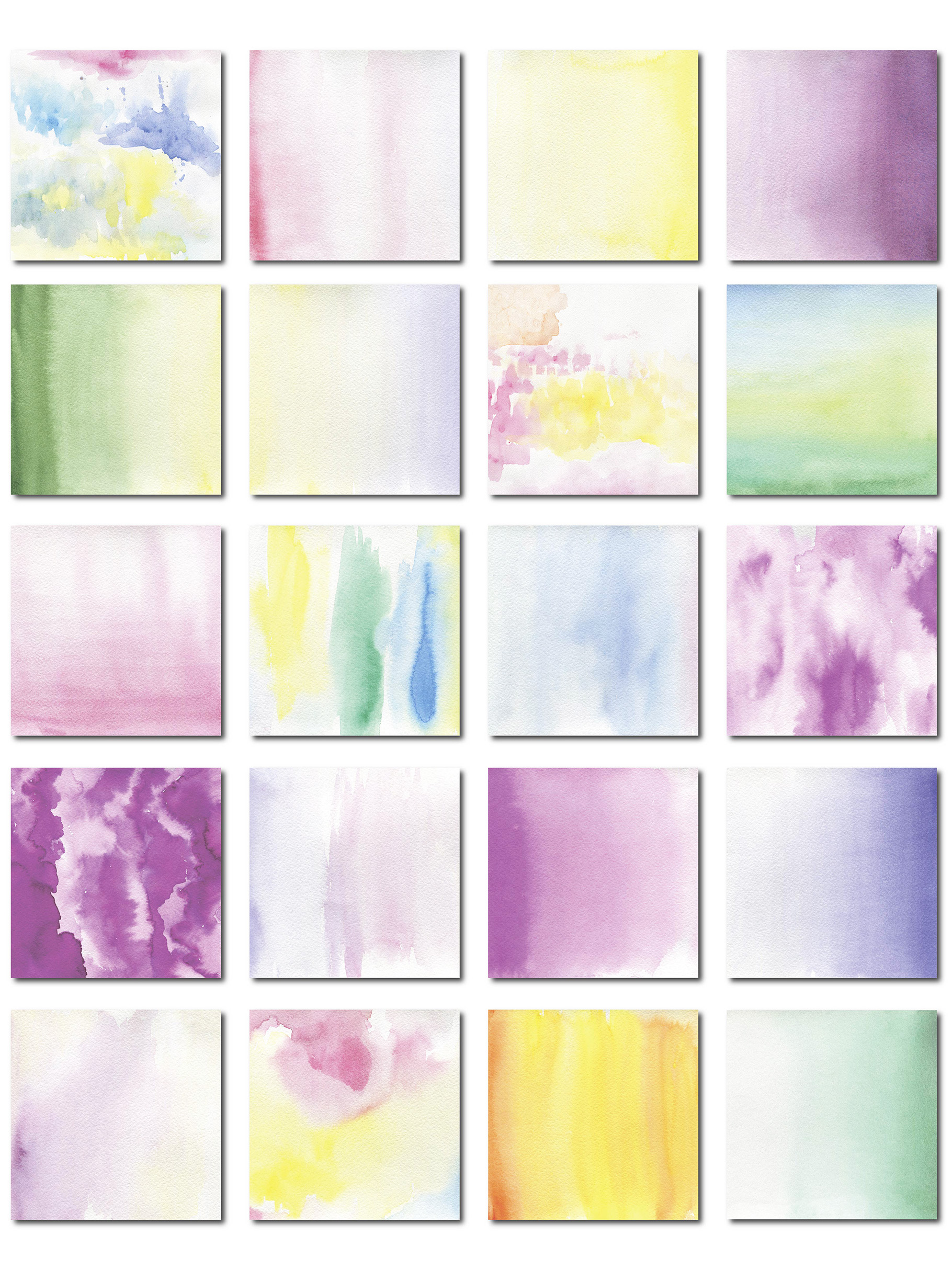 69  Watercolor textures backgrounds! example image 3