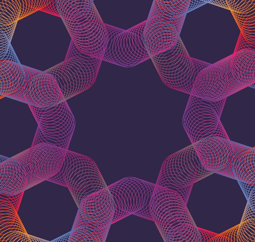 Geometric vector backgrounds example image 7