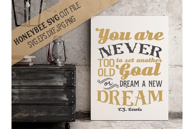 New Goals New Dreams example image 1