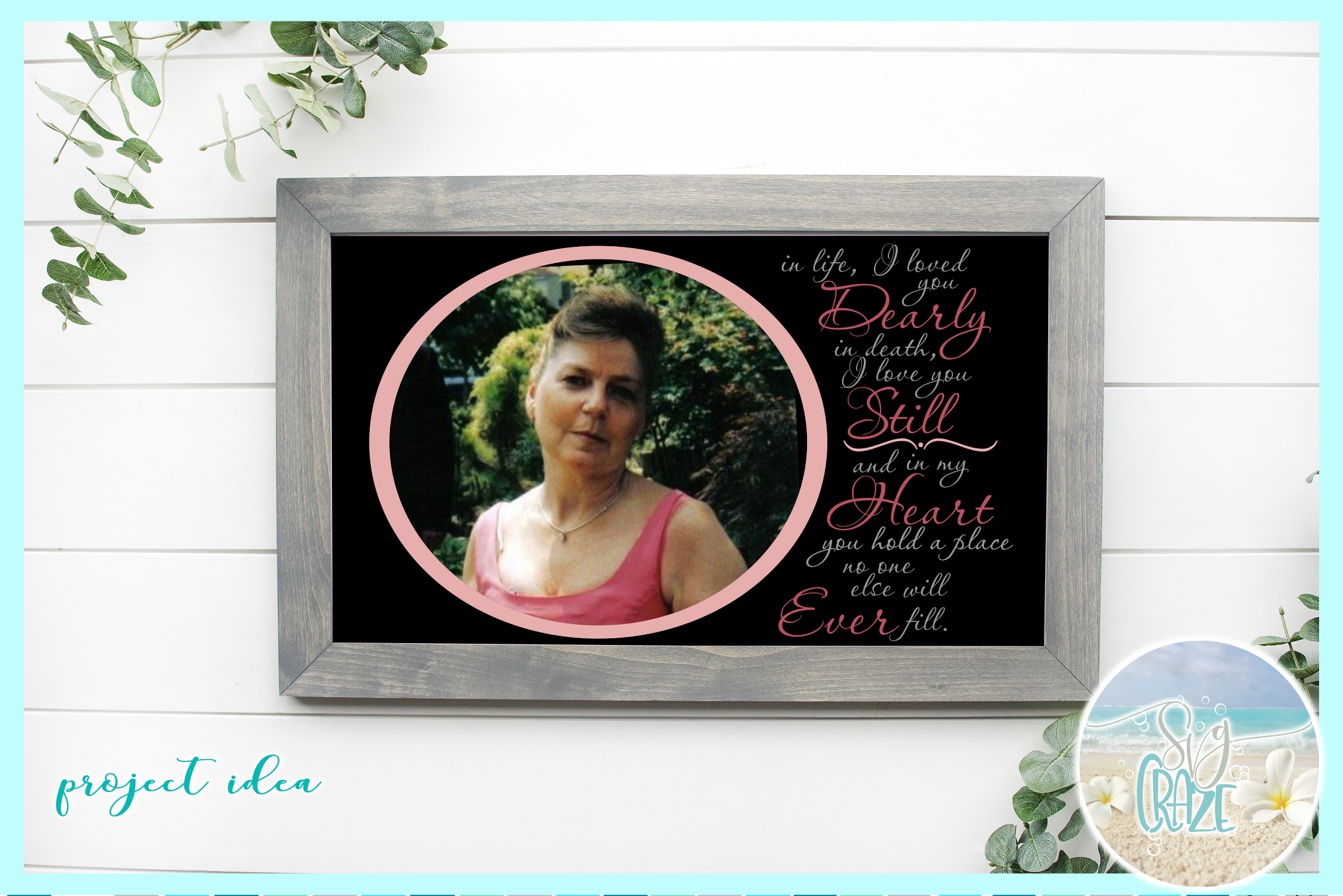 I Loved You Dearly Love You Still Memorial Quote SVG example image 2