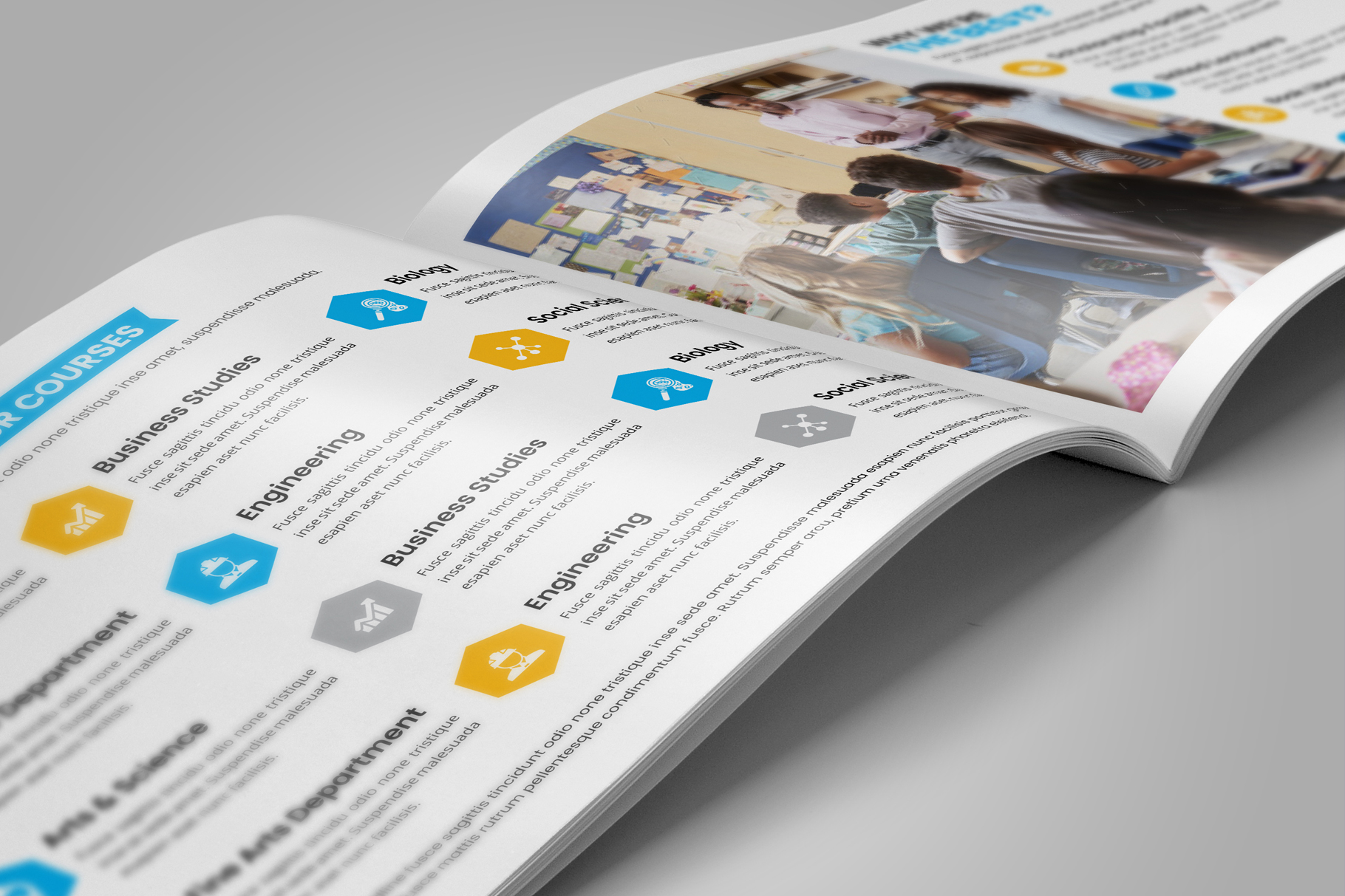 Education Prospectus Brochure v9 example image 5