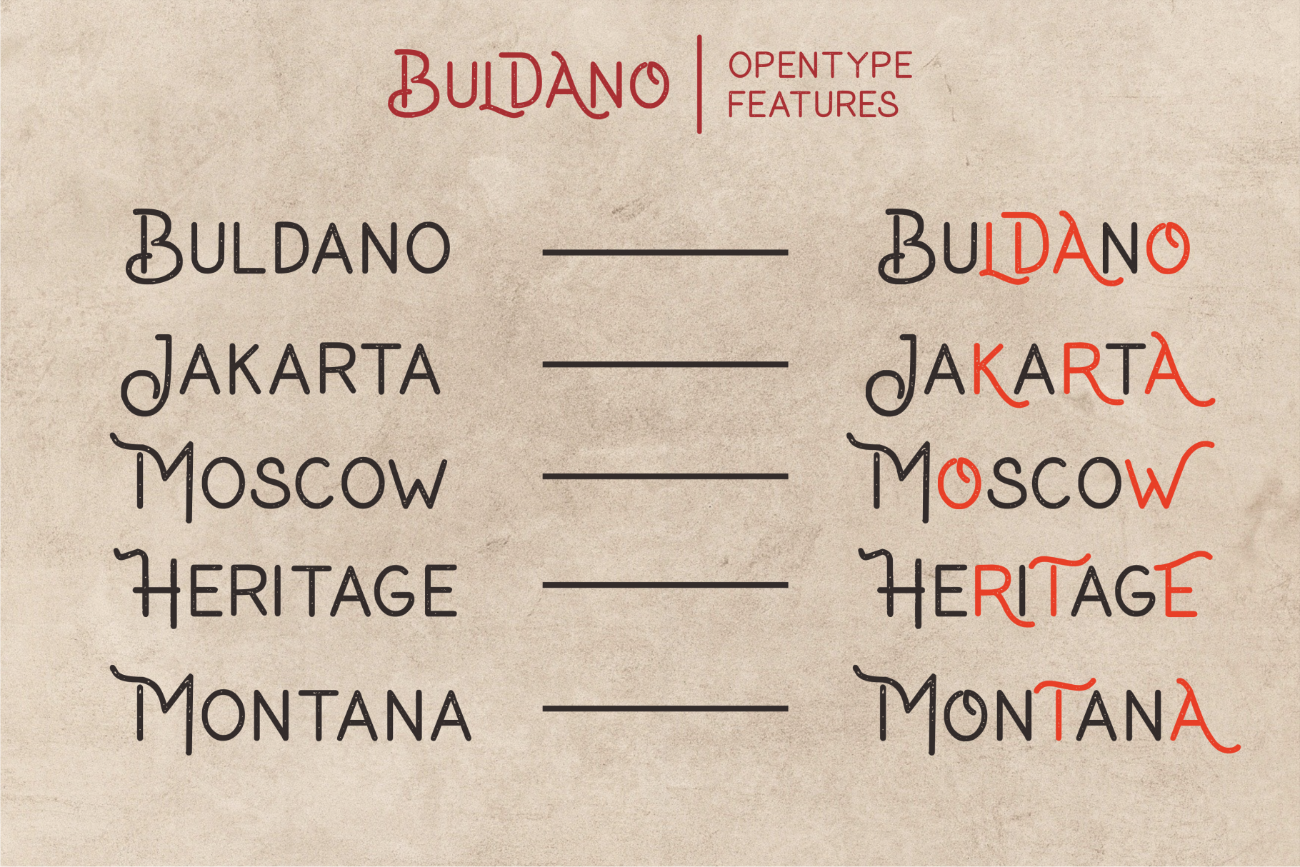 Buldano Stylish Sans example image 9