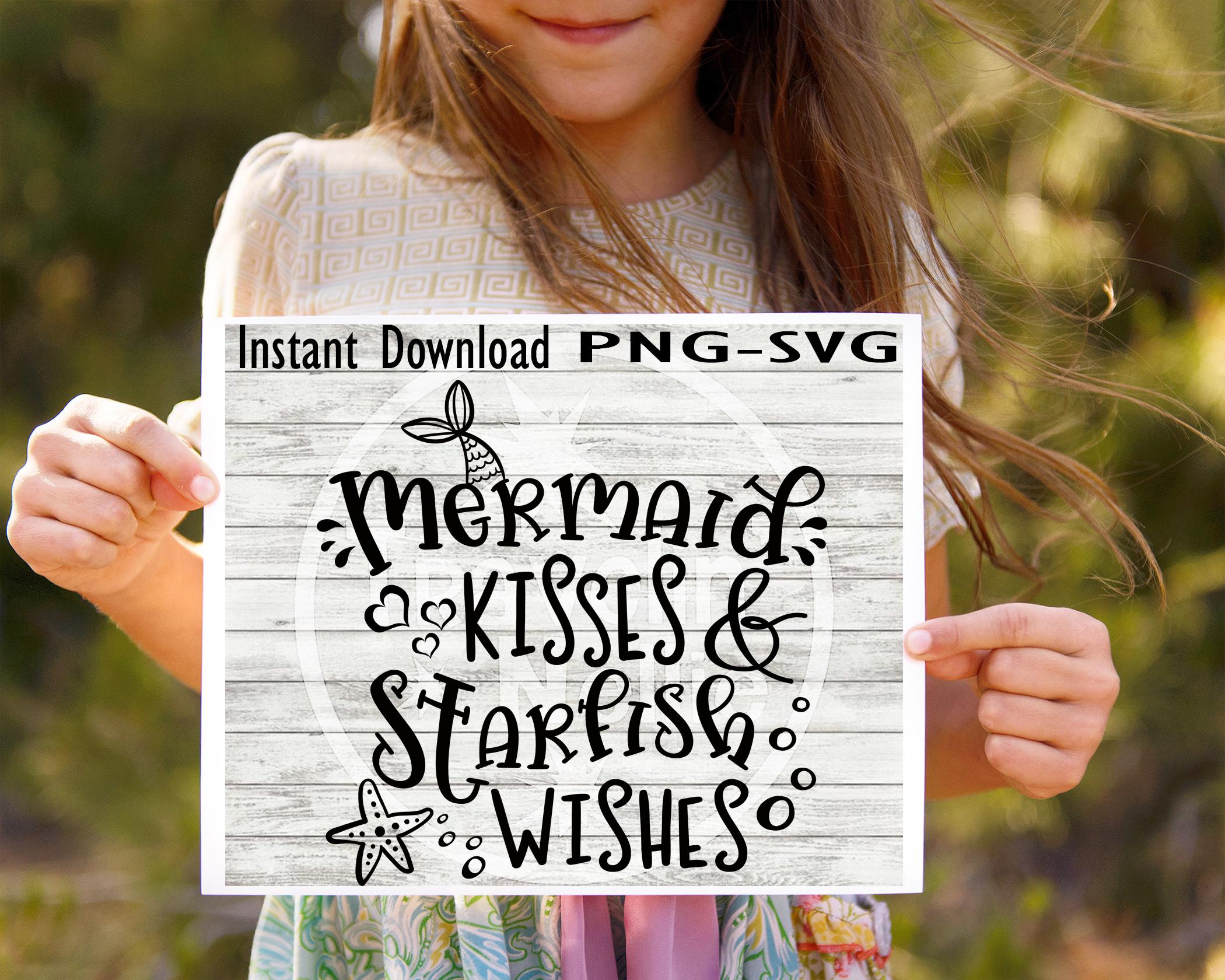 SVG Bundle, Sea SVG, Beach SVG, Collect Memories svg, Wish Upon A Starfish svg, Mermaid Kisses Svg, Starfish Wishes svg, Mermaid svg, SVG for Cricut example image 4