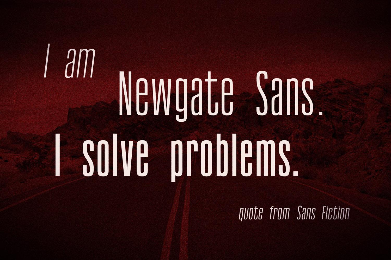 Newgate Sans example image 2