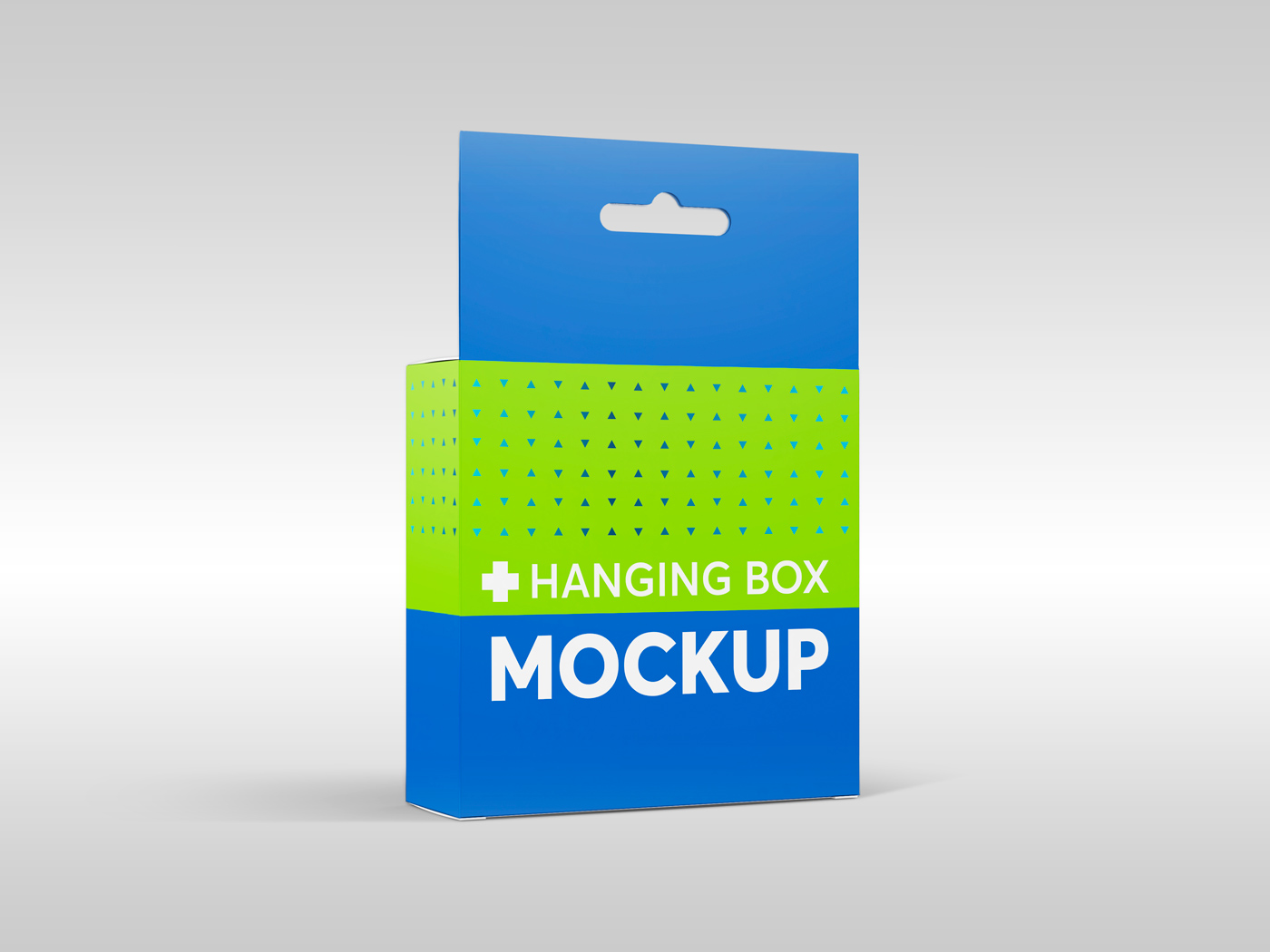 Flat Square Box with Hanger Mockup example image 16