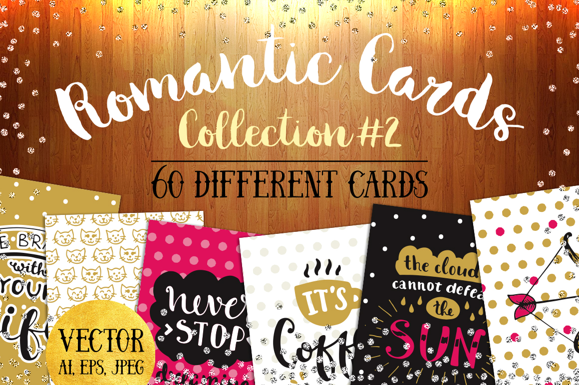 60 Valentine's Day Romantic Cards #2 example image 1