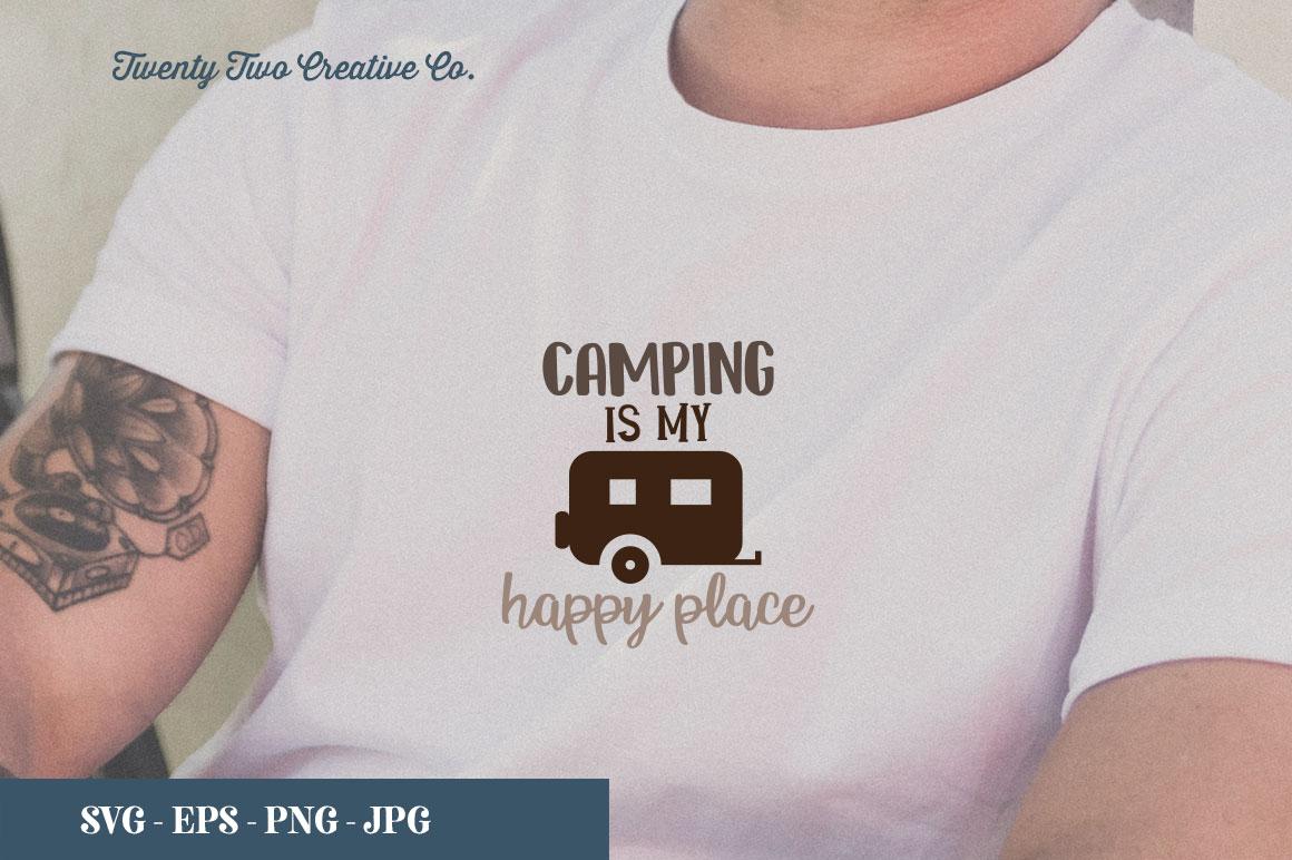 Camping SVG Bundle   SVG, EPS, PNG, JPG example image 16