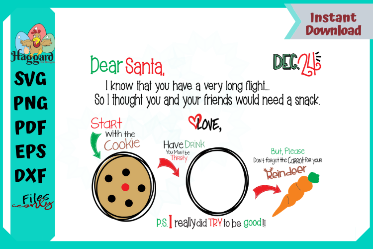 Dear Santa Placemat example image 4