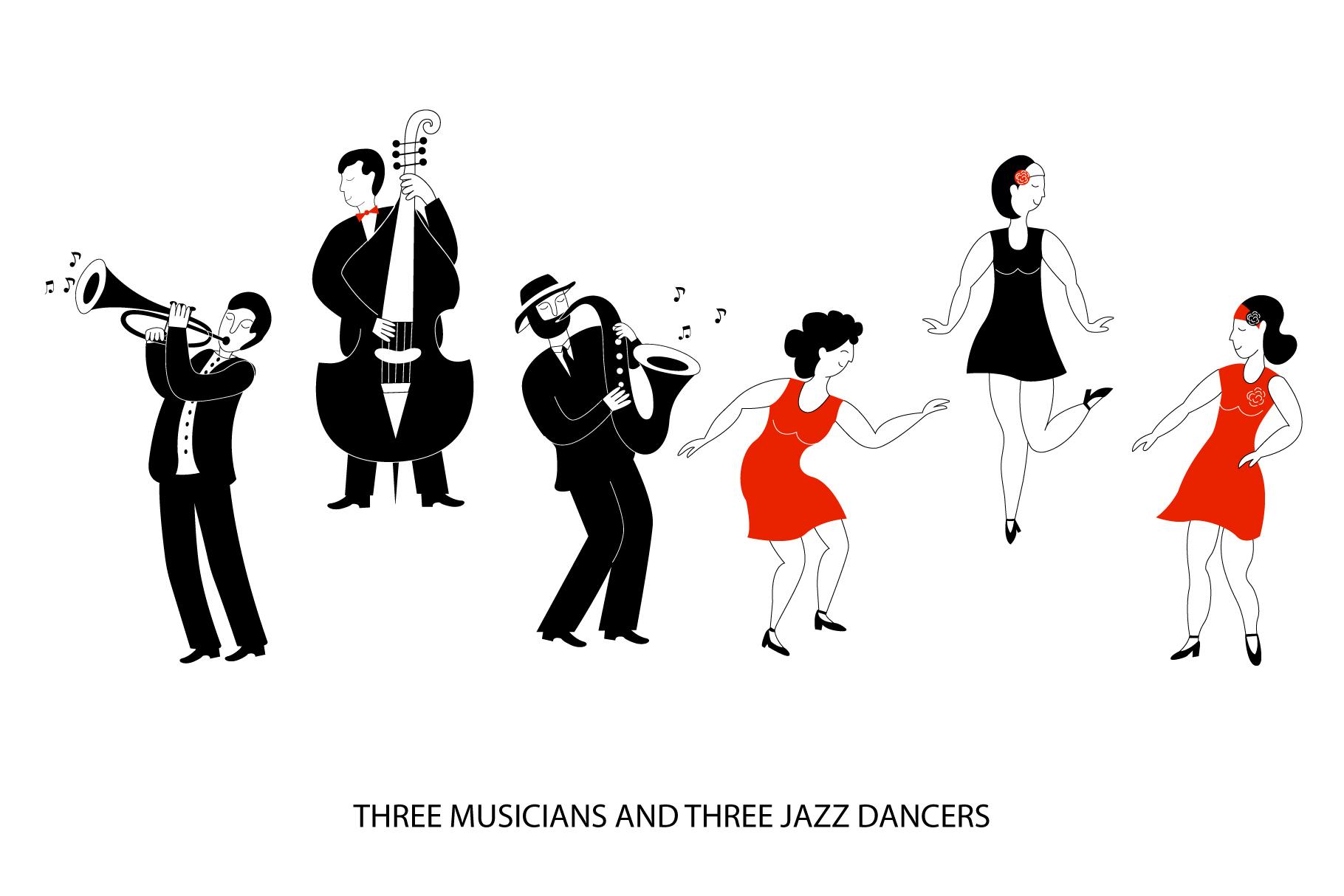 Modern jazz band example image 4