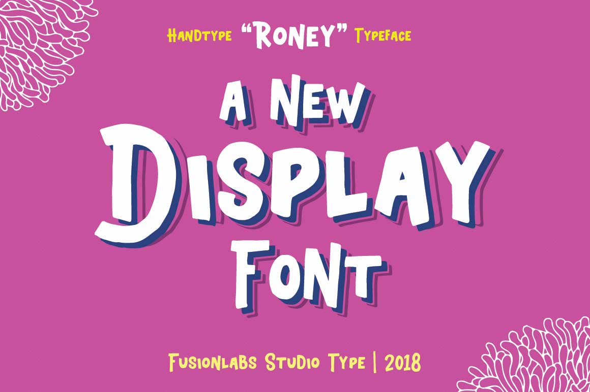 Roney Typeface example image 3